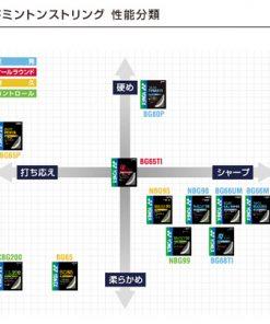 Cước căng vợt BG65 nội địa Nhật Bản